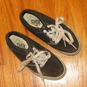 VANS black lace up good condition size 7.5